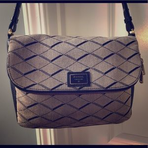 Fossil Preston Jacquard crossbody